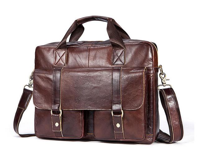 2017 new leather men bag, men shoulder bag, Messenger bag.