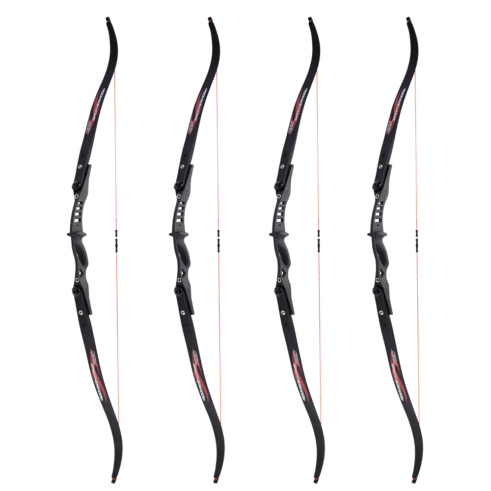 NIKA Archery Takedown ILF Recurve Bow Right/Left Hand Bow Set for Archery Youth Beginners Practice archery takedown recurve bow 68 right hand 38 slingshot hunting