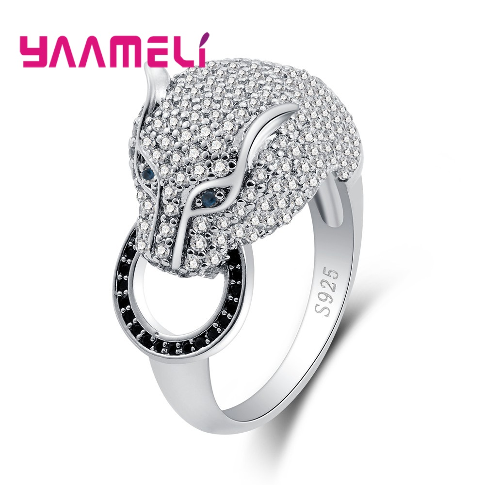 Yaameli Fashion Vitage Cool Ring Sterling 925 Silver Jewelry