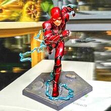 цена на DC Action Figure The Flash Man PVC Model Toys Justice League Model Toys Collections