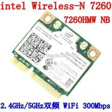 Intel Dual Band Wireless-N 7260 7260HMW NB Половина Мини PCIe PCI-express WLAN WI-FI Карты Модуля 802.11 б г n