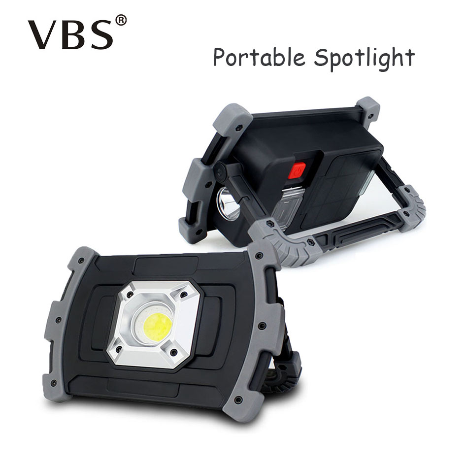 Us 13 3 43 Off Multifunction Led Work Light Rechargeable Portable Led Lanterns 18650 Usb Rechargeable Led Searchlight For Outdoor Lighting In