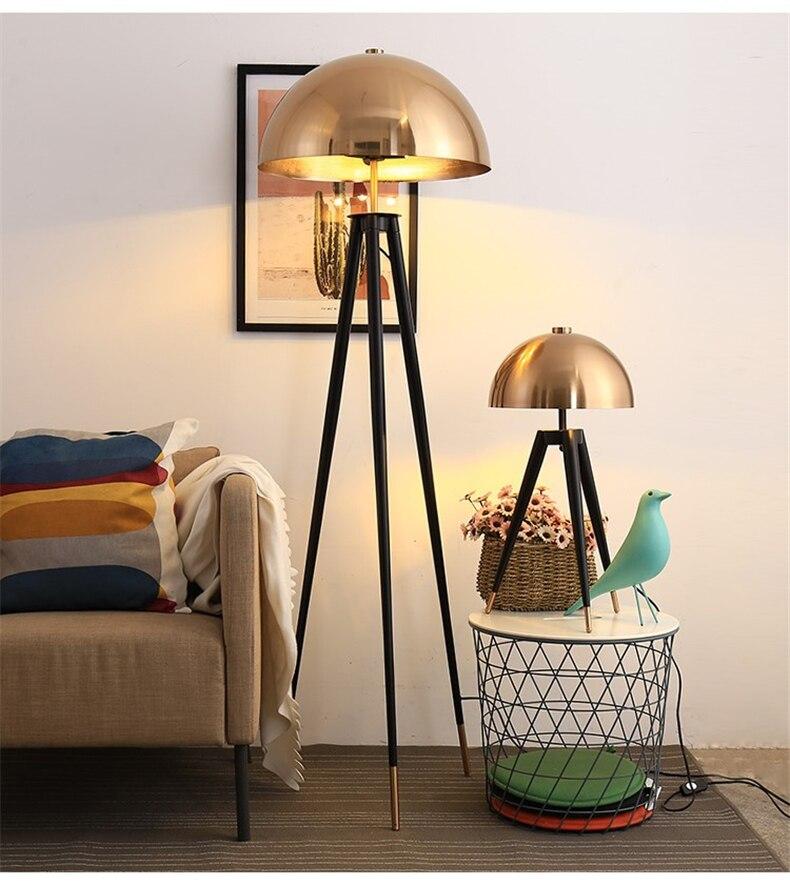 Postmodern Designer Floor Lamp Metal