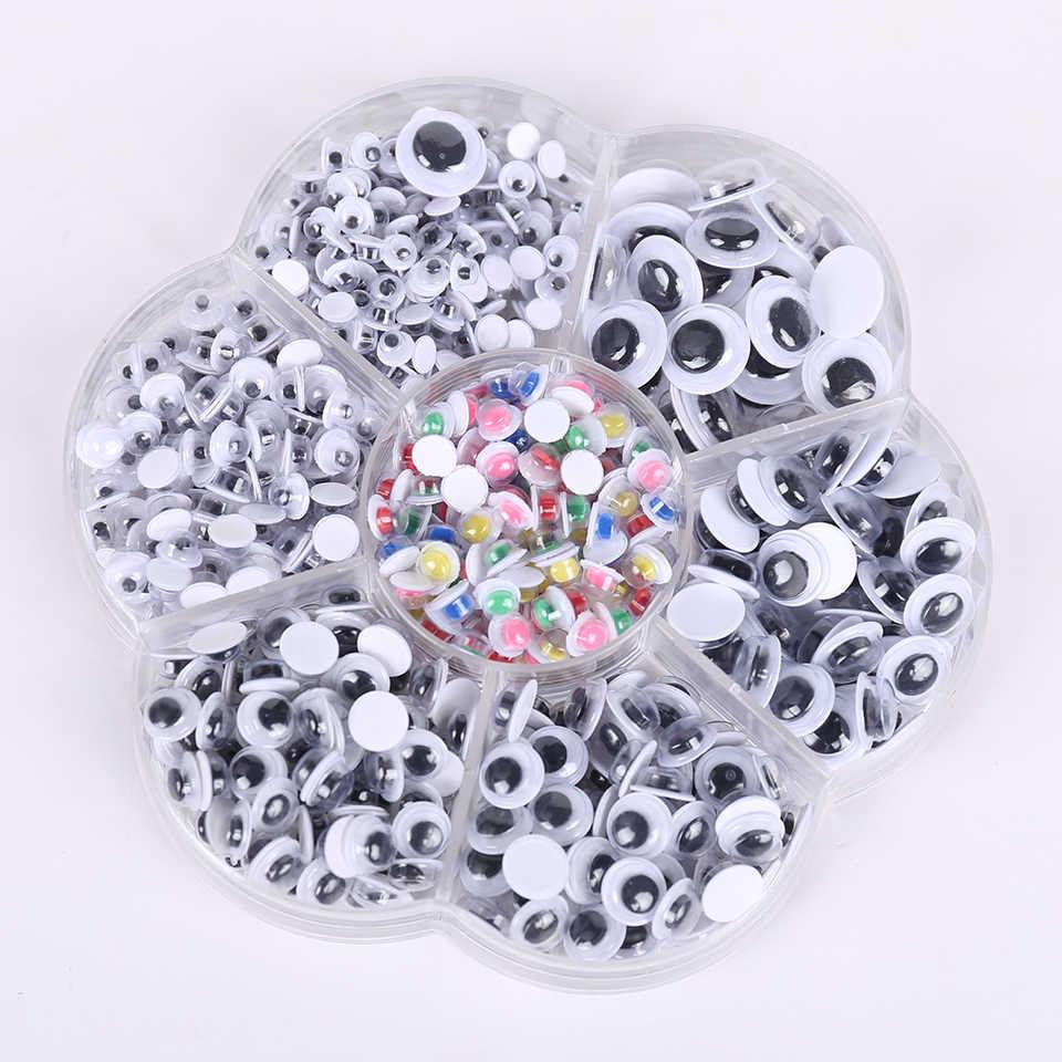 Cateleya 800 шт 4-10 мм разноцветная поделка из пластмассы безопасные глаза для плюшевый медведь животное амигуруми DIY аксессуары