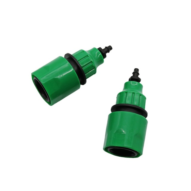 Garden Hose Quick Connector For 1/4 Inch 3/8 Inch Agriculture Irrigation  Water