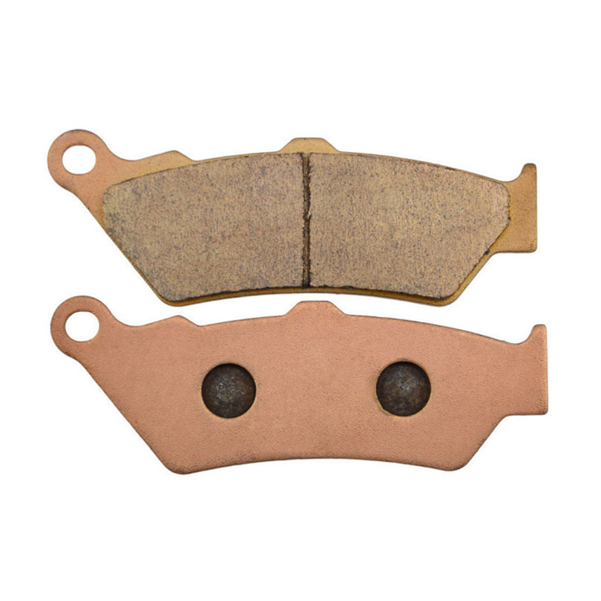 Motorcycle Parts Copper Based Sintered Brake Pads For BMW F650GS F 650GS F650 GS 1999-2007 Front Motor Brake Disk #FA209