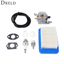 DRELD Carburetor Carb with Gasket Air Filter Line Spark Plug Primer Bulb Kit for ECHO PB403H PB403T PB413H Chainsaw Leaf Blower