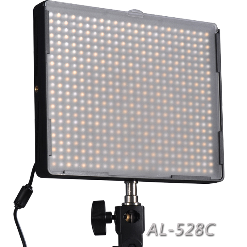 New Aputure Amaran AL-528C LED Video Light Panels Color Temperature Adjustment Photography Lighting for Canon Nikon Sony