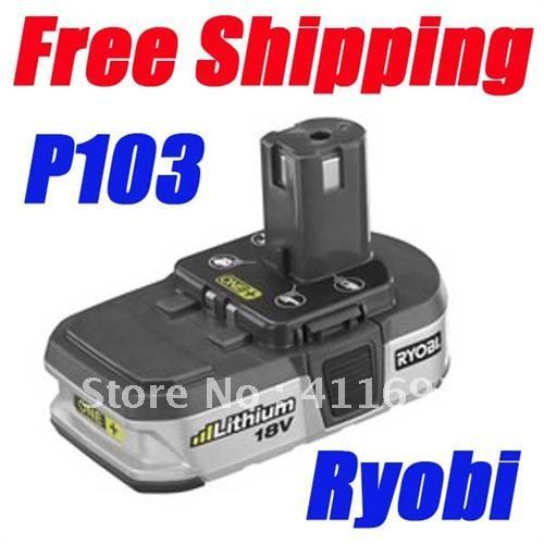 2014 Promotion Time-limited Li-ion 1 Piece X Ryobi 18v Battery Lithium-ion One+ Compact P103 Good Quality Second Hand