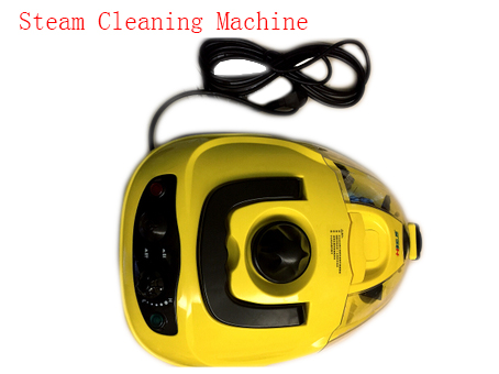 High Pressure Steam Cleaning Machine Handheld Steam Cleaner Wash floor Steam Sterilization For Home/ Car car wax wash cleaning polishing expanding sponge pad yellow