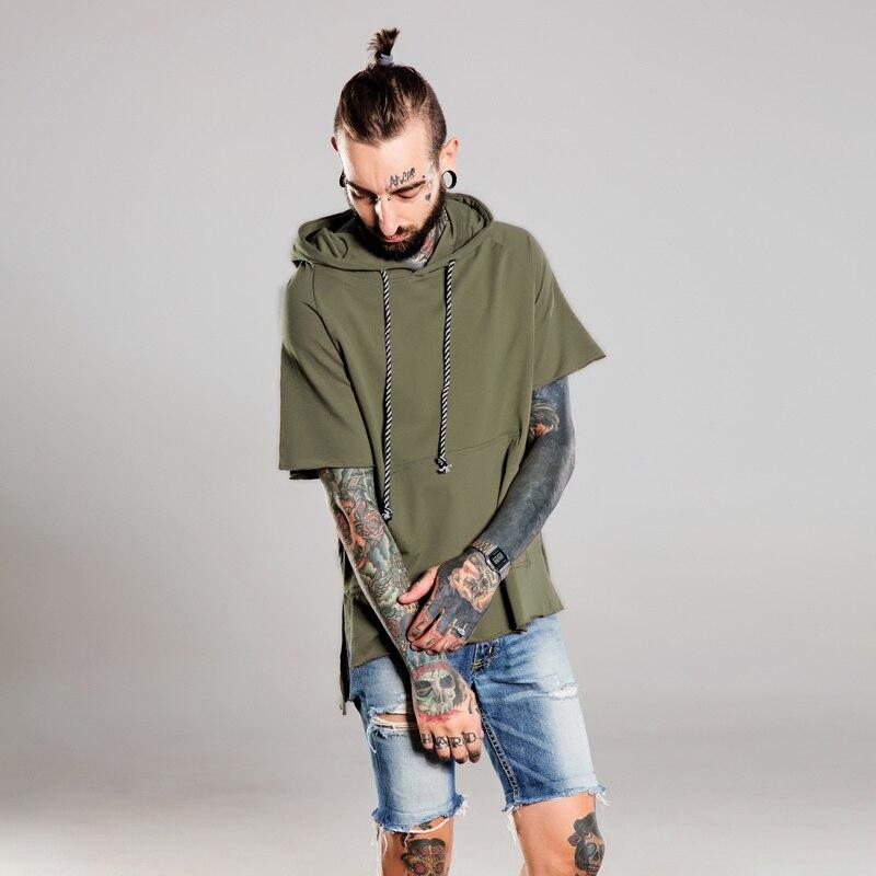 Online Get Cheap Black Short Sleeve Hoodie -Aliexpress.com ...