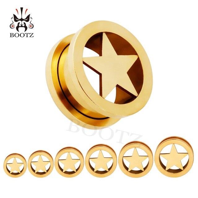 Серьги для пирсинга kubooz из нержавеющей стали с логотипом