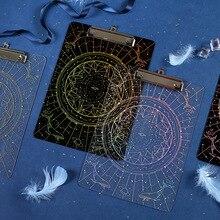 Creative Laser Hot Venus Secret Series Folder Paper High Permeability Acrylic Bookboard Clamp недорго, оригинальная цена