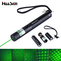 Hot Sale 2 Modes Zoomable SD Laser 303 Green Laser Pointer High Power Lazer Light with 2 Safe Keys