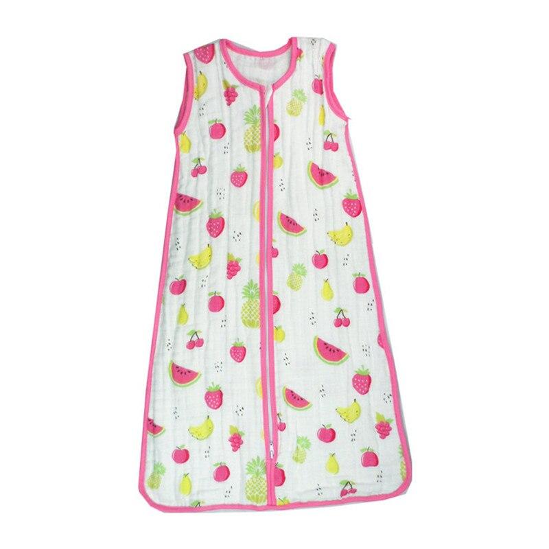 Baby-Sleeping-Bag-SleepSack-Muslin-Blanket-Thin-Soft-Vest-Type-Cotton-Gauze-Newborn-Baby-Tracksuit-Sleepwear-83CM90CM-3