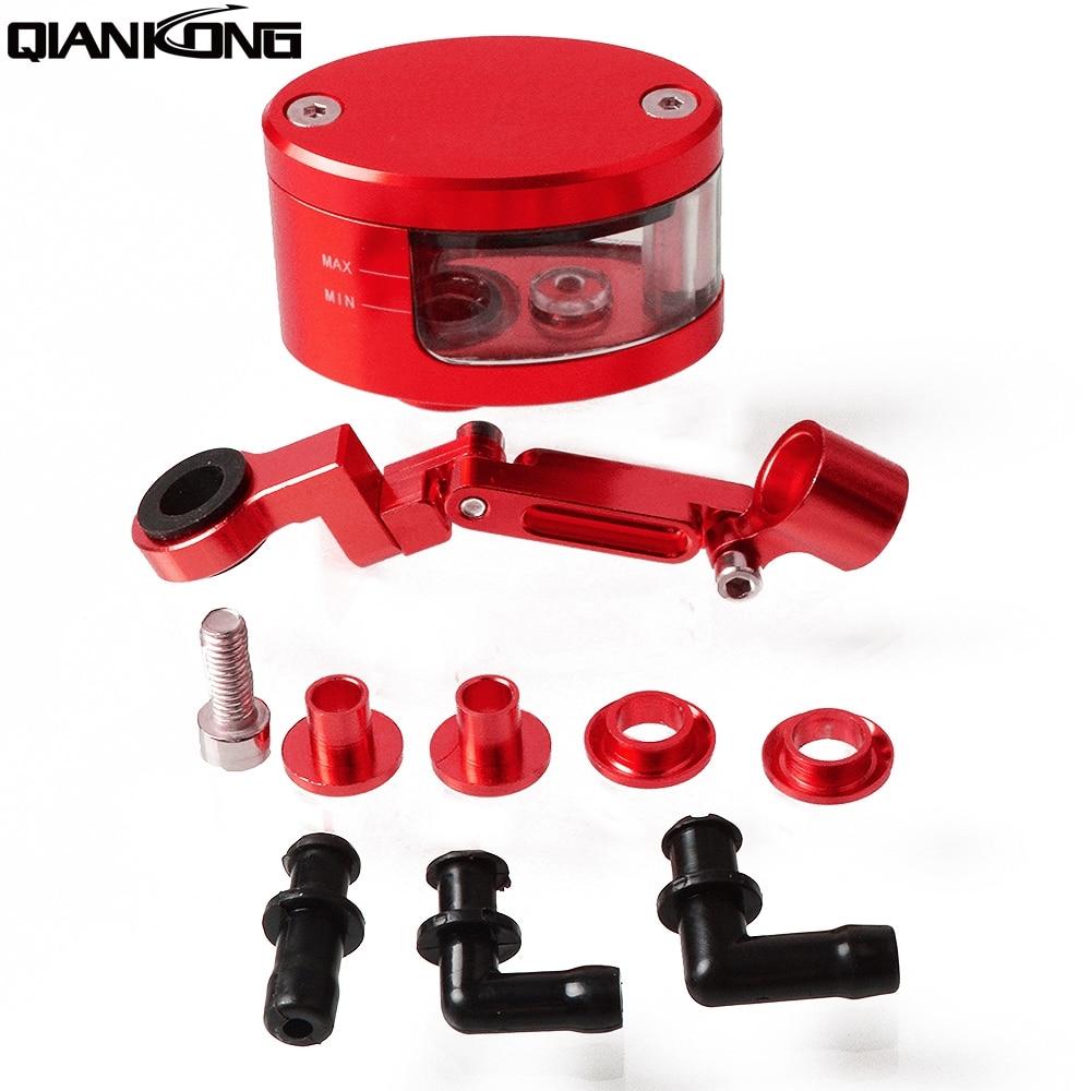 Motorcycle Brake Fluid Oil Reservoir Cup Tank +support Bracket Moto Oil Fluid Cup FOR KTM DUKE200 DUKE390 DUKE690 DUKE990