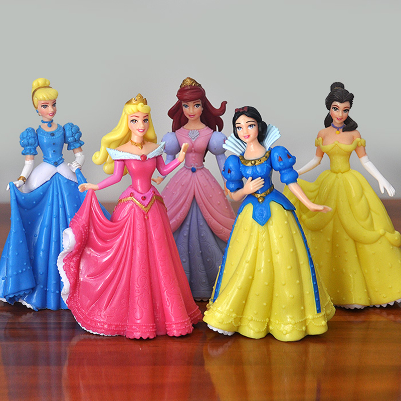 Decorations Toys Belle Doll-Ornaments Action-Figures Snow-White Sleeping Beauty Princess