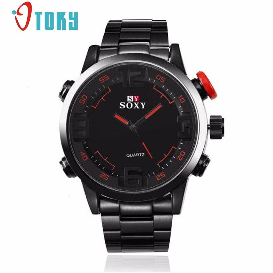 OTOKY Mens Luxury Army Sport Wrist Watch Waterproof Analog Quartz Watches relogio masculino #40 Gift 1pc