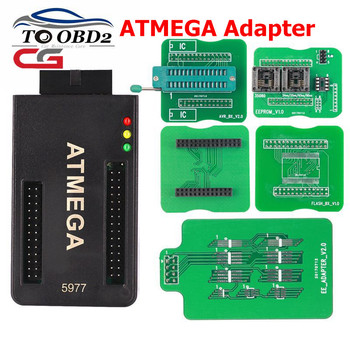 ATMEGA Adapter works for CG100 CG 100 Airbag Restore Device Restore Tool Support ATMEGA re-use & 8-pin chip ect