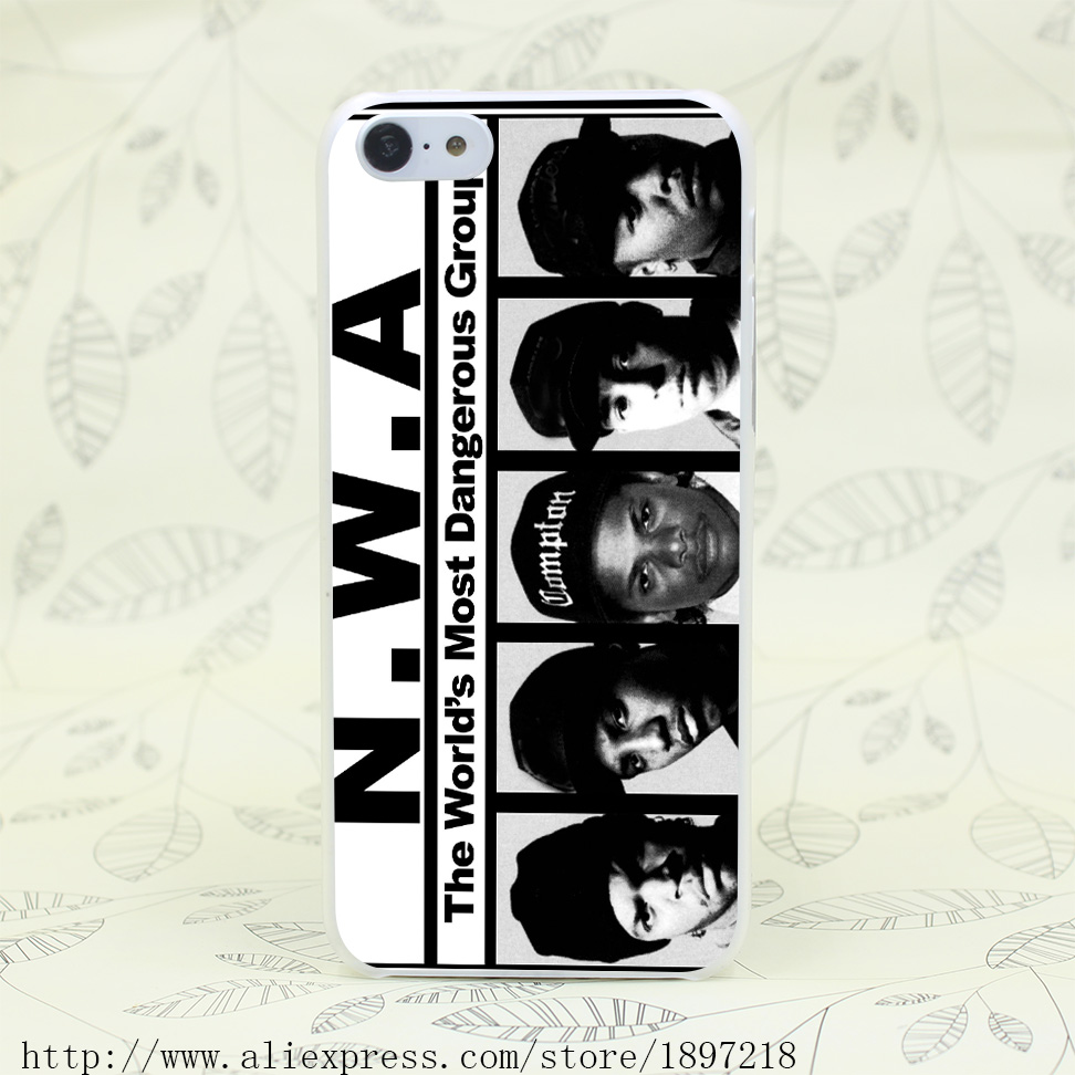 3569T NWA ICE DR DRE EAZY E RAP Hard Transparent Cover Case for iphone 4 4s 5 5s 5C SE 6 6s Clear Cell Phone Cases