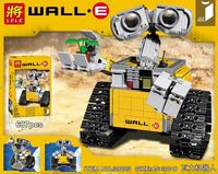 New LELE 009 687Pcs Idea Robot WALLE Model Building Kits Figures Blocks Bricks Children Toys Compatible