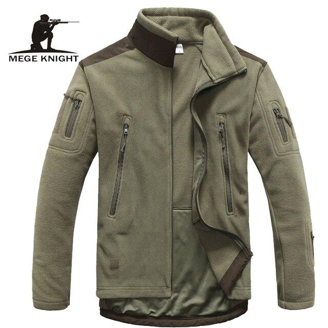 heren kleding herfst winter fleece leger jas softshell kleding voor