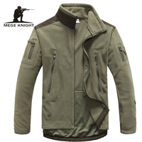 Mens Clothing Autumn Winter Fleece Army Jacket Softshell Outdoor Hunting Clothing For Men Softshell Military Style