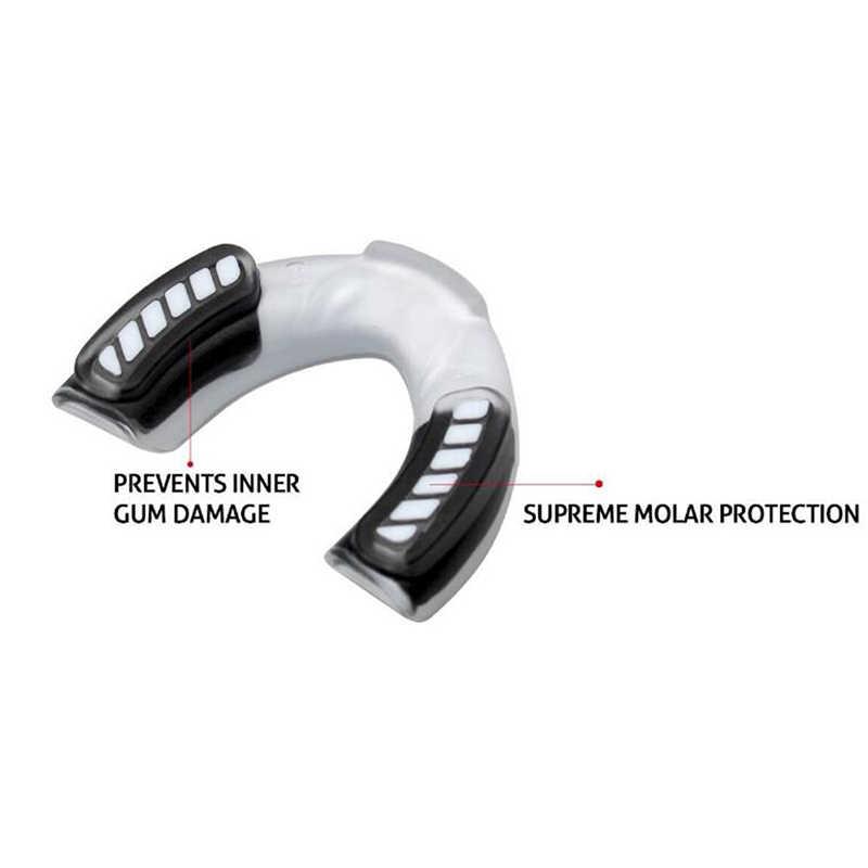 スポーツの口ガード EVA 歯プロテクターキッズユースマウスガード歯ブレース保護バスケットボールラグビーボクシング空手