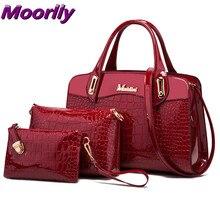 2016 fashion women leather bags handbags women famous brands designer handbags crocodile pattern tote bag