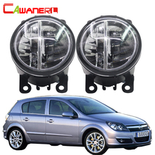Cawanerl For Opel Astra G H 1998 2010 Car Light 4000LM Set H11 LED Fog Light