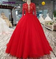 CloverBridal latest sexy low red navy bust sweet 16 dresses 2018 birthday party quinceanera dresses abiti da cerimonia da sera