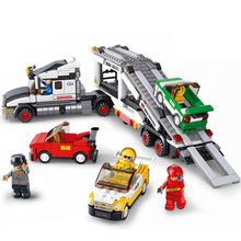 638pcs 2019 New Technic Series Building Blocks Toy Compatible Friends SPEED City Racing Transport Best Gifts For Kid