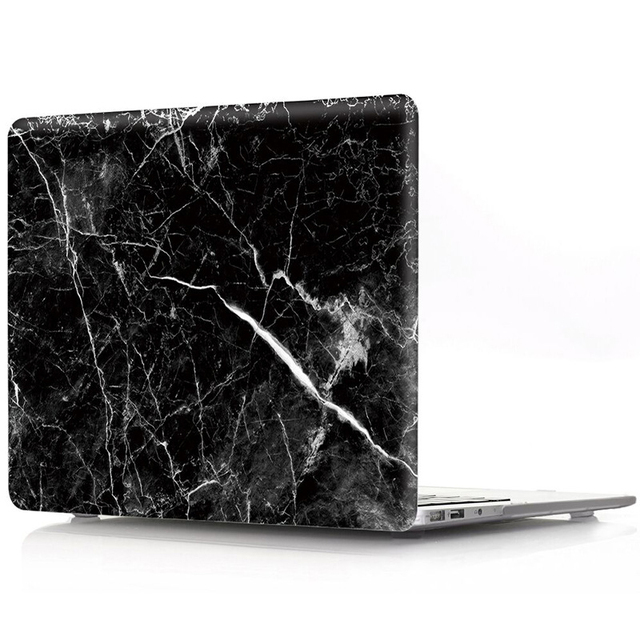 the best attitude 7b810 94024 US $16.59 17% OFF|New Fashion Marble Pattern Case For New MacBook Pro  Retina 13 Inch 15 Inch Hard Case 13 Pro 15 Pro Case-in Laptop Bags & Cases  from ...