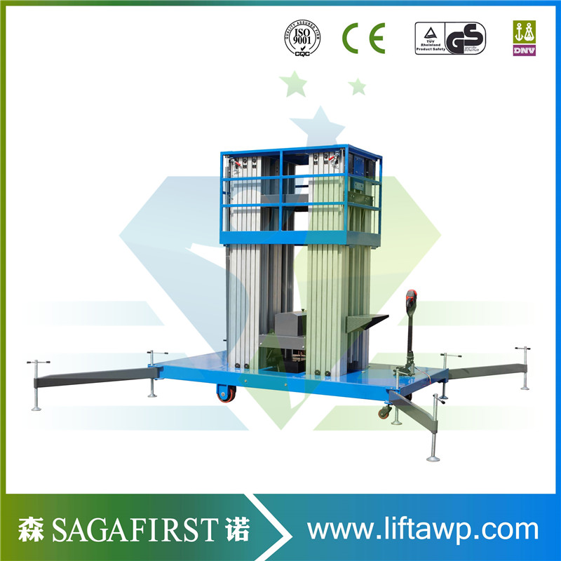 With CE & ISO Certification2018 June Produce Alumnium Lift