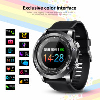 Heart rate blood pressure oxygen monitor T2 smart watch men IP68 waterproof fitness tracker outdoor sports Bluetooth smart watch