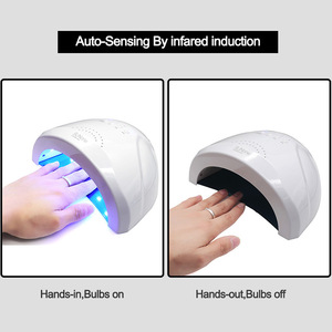 Image 5 - 48W UV Lamp Nail Polish Dryer 28 LEDs Light 5S 30S 60S Drying Fingernail&Toenail Gel Curing Nail Art Dryer Manicure for Sunone