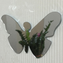 Wall Clock Modern Design 3D DIY Acrylic Mirror Living Room Quartz Needle