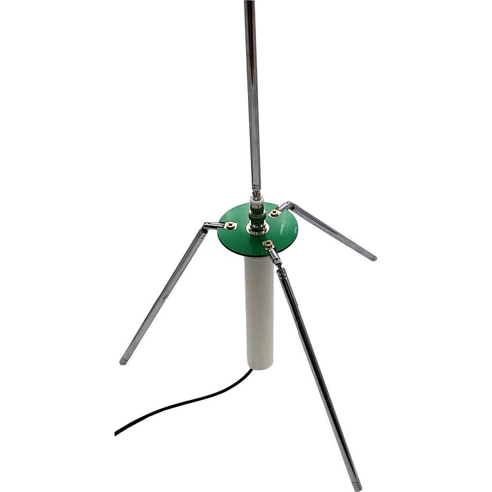 4 da Onda de fm da Antena do gp 3 do Cometa para o Receptor & o Transmissor com Antenas Antena Portátil Telescópicas 65-375 Mhz 50 w Bnc 1 –