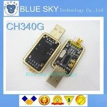 5 шт./лот CH340 модуля вместо PL2303, CH340G RS232 в TTL модуль обновления USB к последовательному порту в девяти Brush маленькие тарелки