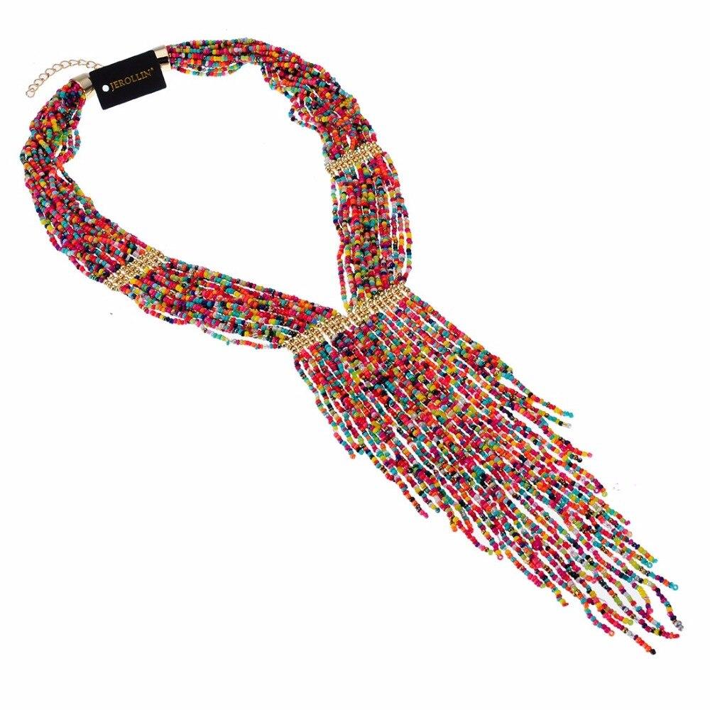 10 Colors Collar Creative Chain Style Bib Pendant Necklace Resin ...