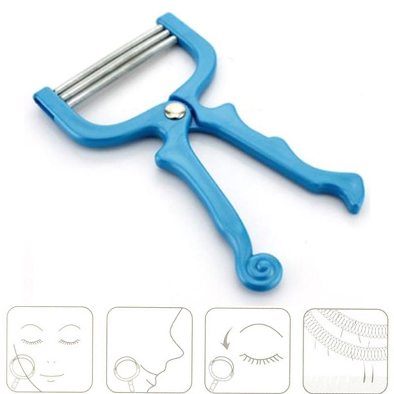 1 Pcs Facial Hair Epilator Hair Removal Device Plastic Resin Stainless Steel Spring Face Hair Threading Shaving Removal Tools Shaving & Hair Removal