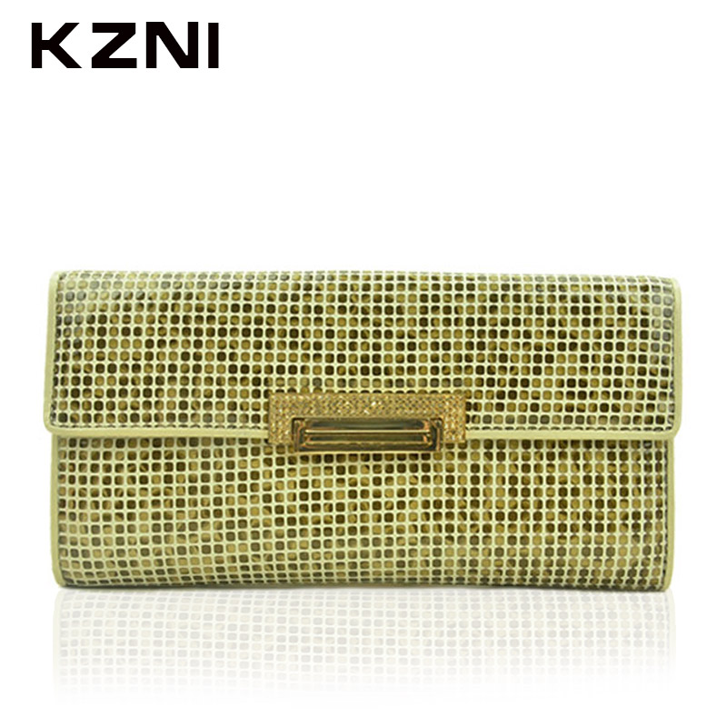 KZNI Genuine Leather Purse Crossbody Shoulder Women Bag Clutch Female Handbags Sac a Main Femme Bolsas Feminina 2051 kzni genuine leather bag female women messenger bags women handbags tassel crossbody day clutches bolsa feminina sac femme 1416