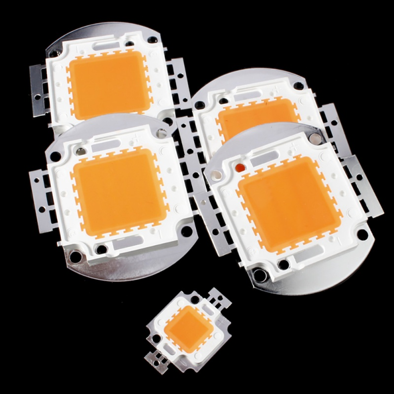 Useful LED Chip Full Spectrum Grow Light Lamp Beads For Indoor Plant Growth In 10/20/30/50/100W Copper Material