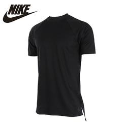 NIKE Original 2017 New Arrival AIR JORDAN Mens T-shirt Breathable Tops Short Sleeve Flexible Sportswear For Male#834548-010