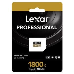 Image 5 - Lexar 1800X Memory card 32GB 64GB Professional Micro SD Card Class10 UHS II U3 SDHC SDXC 270MB/s TF Card
