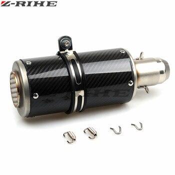 Universal Modified Motorcycle Exhaust Pipe Moto escape Muffler For Kawasaki Ninja 300 EX300 Z300 NINJA Z250 z1000 z800 750 Z900