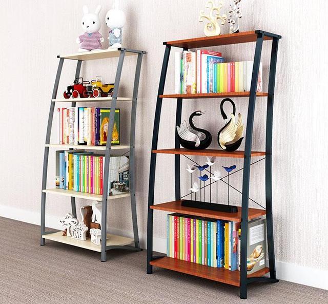 Rack Floor Living Room Bedroom Bookshelf Flower Shelf Storage Rack083