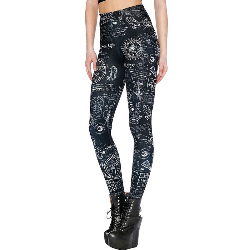 Fashion Ladies Women Black Legging Woman Jeggings Legings Fitness Legging Pant Pants Printed Leggings