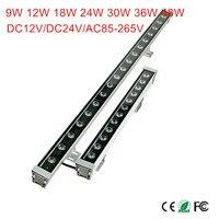 18W 24W 30W 36W 48W waterproof IP65 AC85 265V led flood light LED Wall washer lamps Landscape light Blue/Green/Red/Warm/Cold/RGB