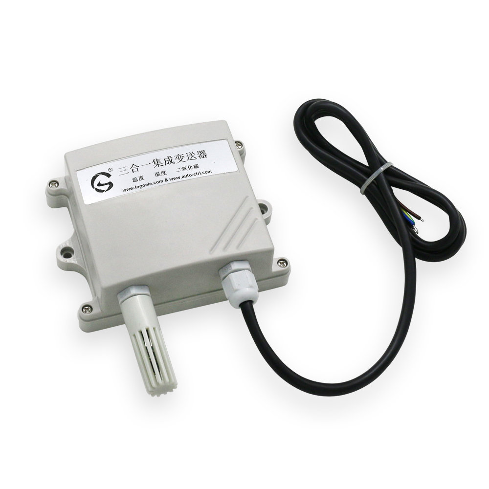 CO2 Temperature and Humidity Transmitter Controller 485 Output Carbon Dioxide Three in one Sensor Module Agricultural Greenhouse Personal Care Appliance Parts     - title=